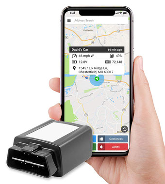 seguridadelectronica.com.gt Car Tracker OBD Device Sistema de rastreo GPS para vehículo