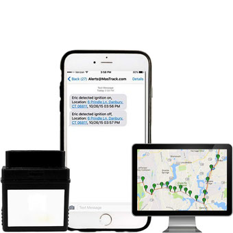 seguridadelectronica.com.gt OBD Live GPS, rastreador de vehículos con diagnóstico de motor