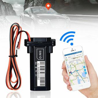 seguridadelectronica.com.gt Perseguidor ocultado espía en tiempo real impermeable del localizador de GPS para el coche / el vehículo / la motocicleta