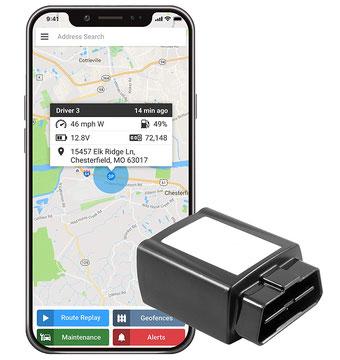 seguridadelectronica.com.gt Rastreador GPS OBD con seguimiento en tiempo real de GPS 3G, dispositivo de rastreo de automóviles y localizador de automóviles, GPS para vehículos - Sin contratos