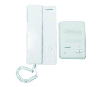 PORTERO PLÁSTICO DE SOBREPONER CON 1 TELEFONO 'COMMAX'