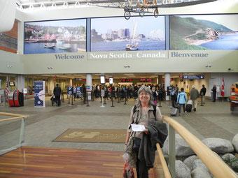 Halifax Ankunftshalle