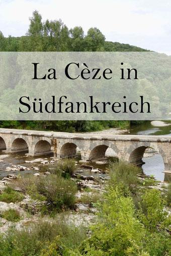 La Céze, Roque-sur-Ceze, Kaskaden von Sautadet, Montclus in Frankreich. Reisetipps Okzitanien.