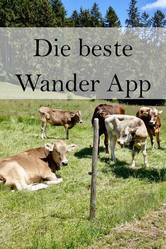 Die beste Wander App. Auch für Radtouren.