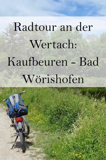 Wertach Radtour: Kaufbeuren, Bad Wörishofen im Allgäu