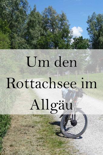 Oy-Mittelberg im Allgäu: Der Rottachsee Rundweg, radeln oder wandern.
