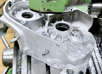 Maico Motorgehäuse reparieren