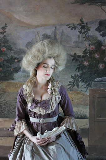 Robe à l'anglaise, 1787 circa