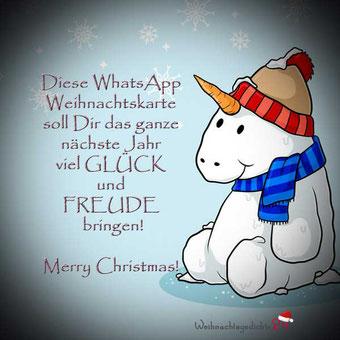 Weihnachtsgrüße per WhatsApp Karte 10