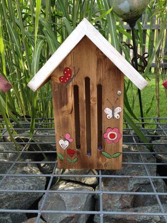 Schmetterlingshaus weiss