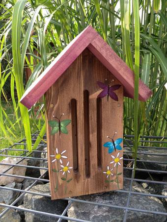 Schmetterlingshaus rot