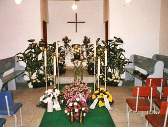 Friedhofskapelle Neuhardenberg, Foto: Arnt Böhme, 1994