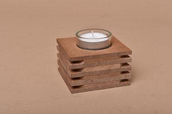 Upcycling-Teelichthalter mit Durchrottungsgarantie