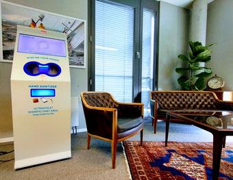 Handhygiene-Informationsterminal der Zukunft