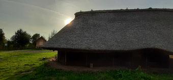 Station der Bronzezeit im Modell
