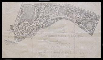 Plan of Rosherville Gardens.