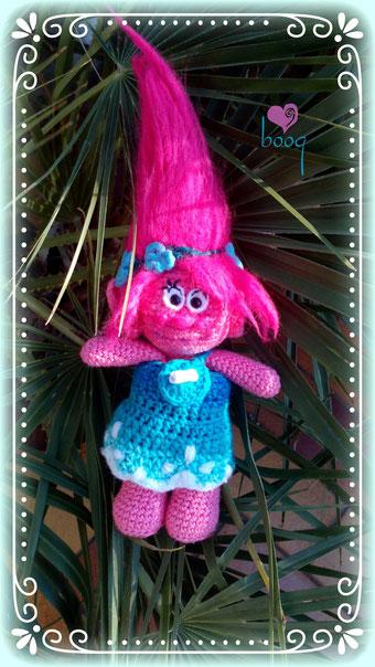 Trolls amigurumi puppy crochet