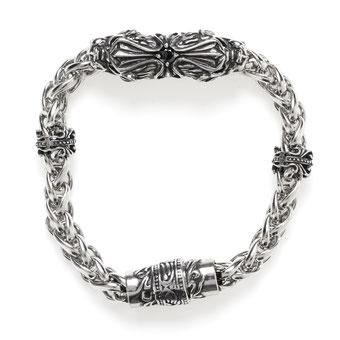 Armband, Edelstahl mit Onyx 89,00€