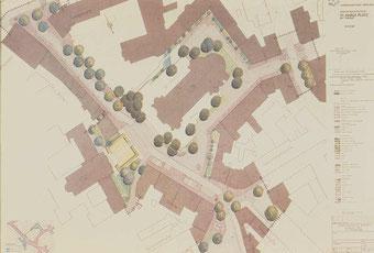 Entwurf, St. Anna Platz mit Umgriff