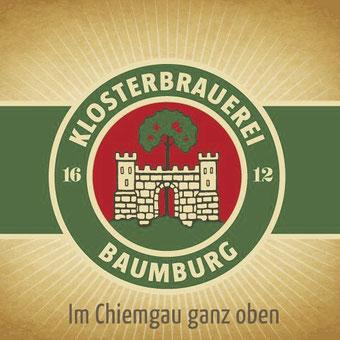 Die Getränke gibt es von der Klosterbrauerei Baumburg
