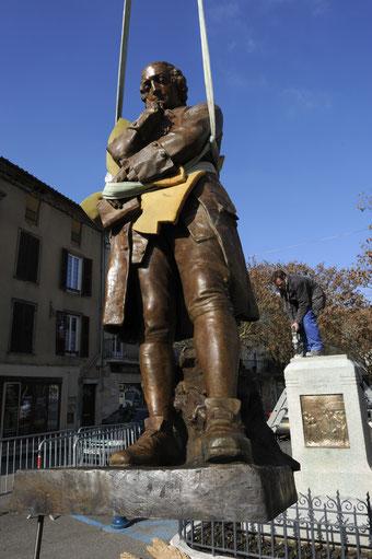 cire perdue, sculpture en bronze fondu par la Fonderie des Cyclopes, Mérignac, Bordeaux