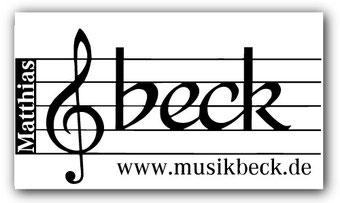 Musikhaus Beck auf dem Musikprob Brass-Festival