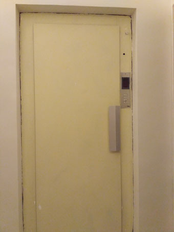 Renovar aspecto ascensor con inox.