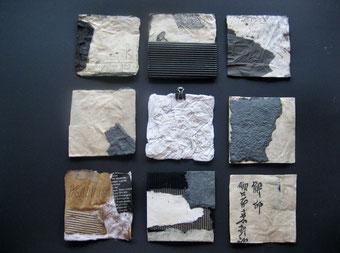 30x Papiercollagen 10x10