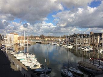 L'ancien port de Honfleur, aujourd'hui port de plaisance