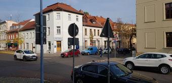 Vollsperrung Augustraße / Karlstraße