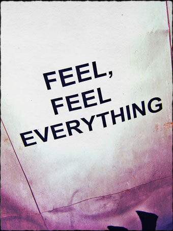 FEEL, FEEL EVERYTHING by Henrik Aeshna