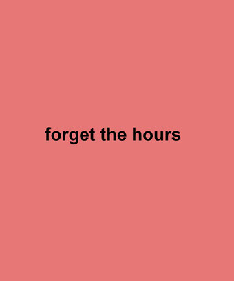 forget the hours by Henrik Aeshna