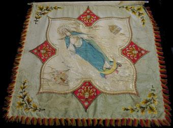 Fahne von 1906 - Rückseite