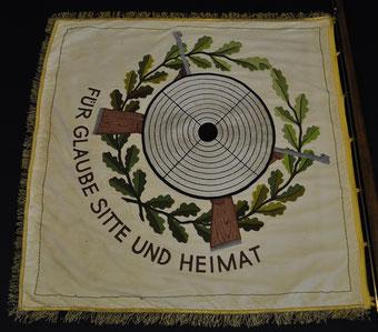 Fahne von 1965 - Rückseite