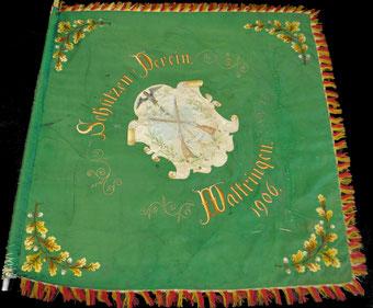 Fahne von 1906 - Vorderseite