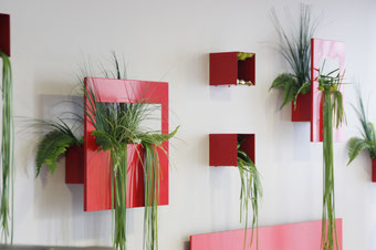 décoration mur végétal