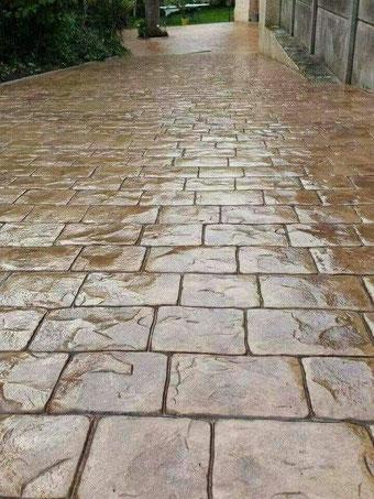 Pavaj beton amprentat Ploiesti