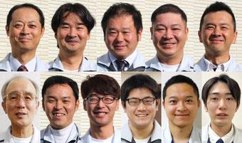 新潟市の事業所向け電気設備工事会社のスタッフ一同