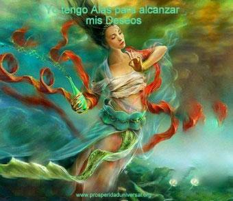 YO TENGO ALAS PARA ALCANZAR MIS DESEOS-  PROSPERIDAD UNIVERSAL- www.prosperidaduniversal.org