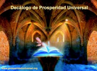 FILOSOFÍA DECÁLOGO DE PROSPERIDAD UNIVERSAL - TENGO DERECHO  UN VIDA TOTALMENTE PRÓSPERA