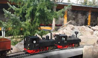 sächsische Modellbahn