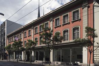 La maison de la Galerie Fischer à la Haldenstrasse 19 à Lucerne jusqu'en 2016.