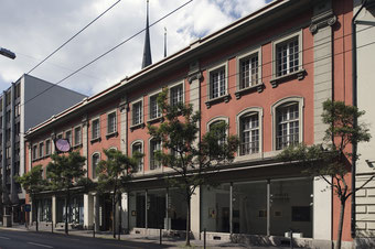 Home of the Galerie Fischer in Haldenstrasse 19 in Lucerne until 2016