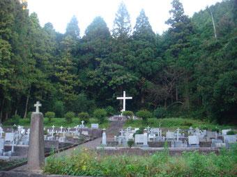 キリシタンの墓です