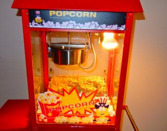 Popcornmaschine, mieten, Würzburg, fruchtbar mobil