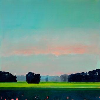 new horizon - Kai Hoge 80x80 cm, 2020, verkauft