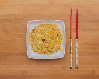 Reispfanne chinesisch selber machen kochen rezept
