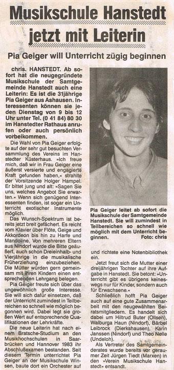 Nordheide Wochenblatt 24.08.1988