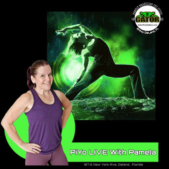photo of PiYo LIVE with Pamela at Gator Family Brazilian Jiu-Jitsu in Deland Florida