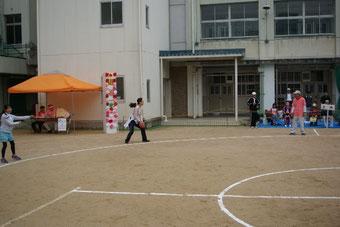 ④ボールパス&タッチダウン